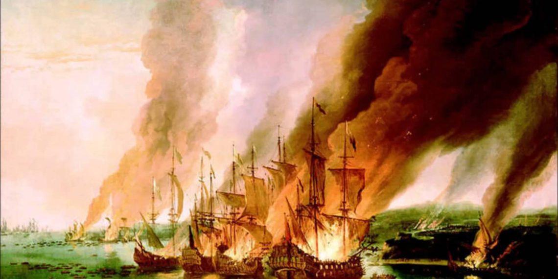 Gemileri Yakmak Tarık Bin Ziyad-Görseli